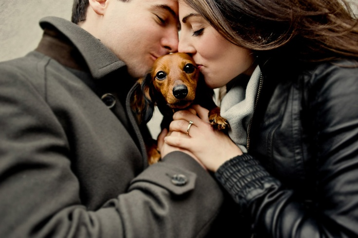 I just adore this picture...especially with the dachshund.  Lovely!! @Sofia Mathiesen