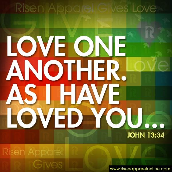 Love One Another: Best 25+ John 13 34 Ideas On Pinterest
