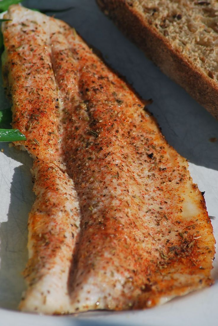 My story in recipes: Grilled Rainbow Trout