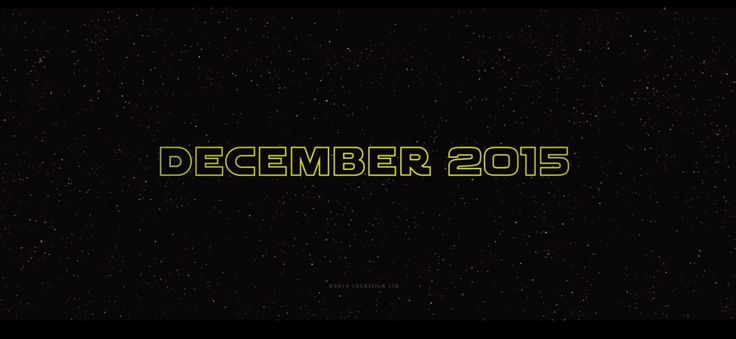 From Star Wars Episode VII / 7 Trailer 1: