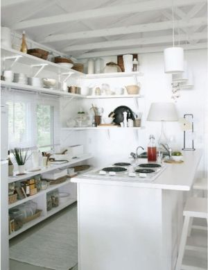 white and cream kitchen - myLusciousLife.com.jpg