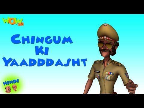 Chingum Ki Yaadddasht - Motu Patlu in Hindi - 3D Animation Cartoon for Kids - As on Nickelodeon - Video Tubez