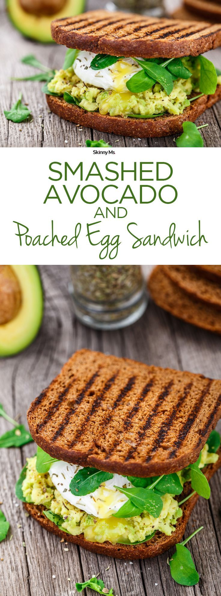 The power sandwich packs a bunch of tasty flavors and textures. Just one bite will turn you into a morning person!