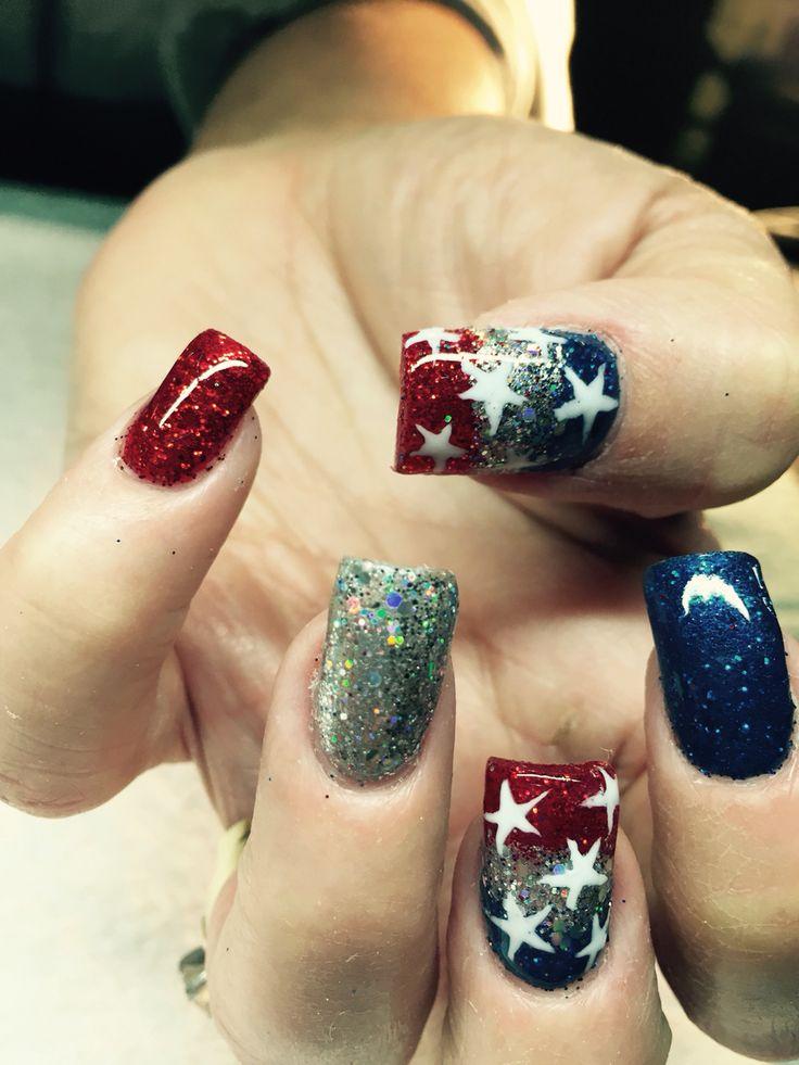 Forth of July #nails #nailart