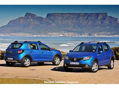 Launch of new Sandero Stepway - Renault replaces its blockbuster crossover  Click image to read full article.