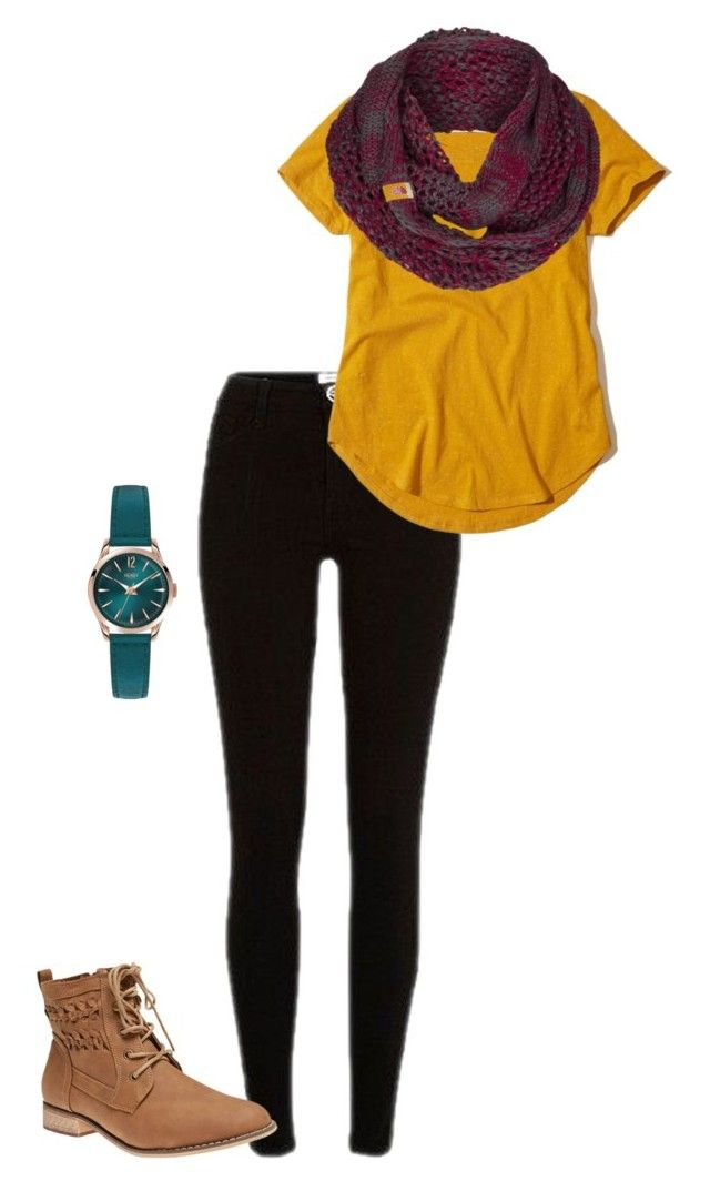 The Color Scheme Of This Outfit Is Triadic Colors I Used Were Yellow