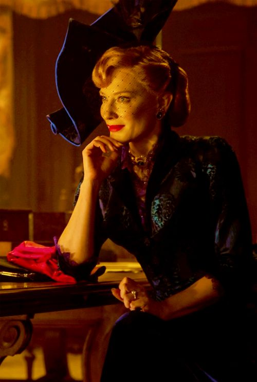 Wicked stepmother in Cinderella movie. I love Cate.