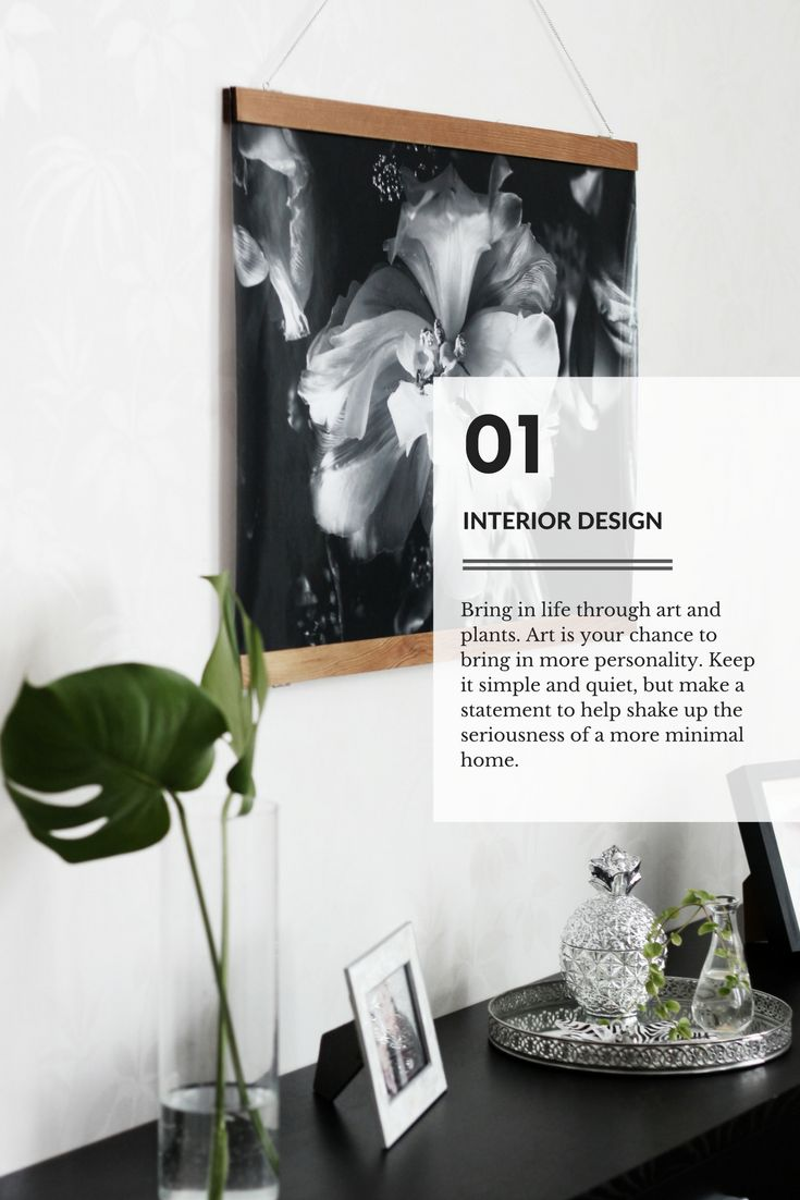 Minimal Home styling