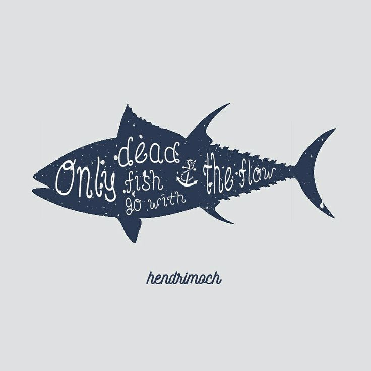 fish typography
