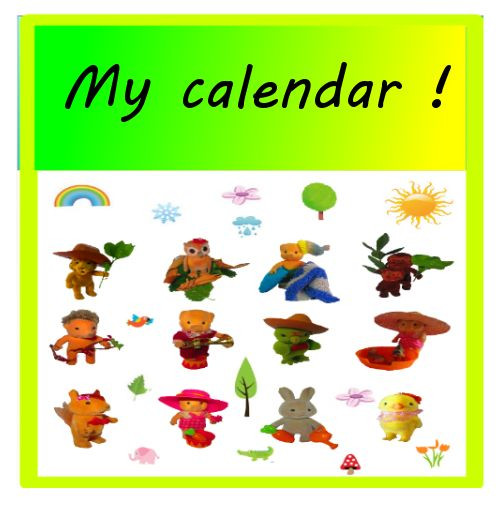Funky kiddie event calendar(use it over and over!).  This is without question and beyond doubt  the cutest calendar. Its not your normal calendar as well. This is a any year calendar which means it can be use for every year that will come by. Little Makatoise and his furry friends are on each month of the calendar. This is an excellent memo or birthday calendar, splendid for keeping track of your little ones activities. Decorate your little ones room with this new and colourful design.