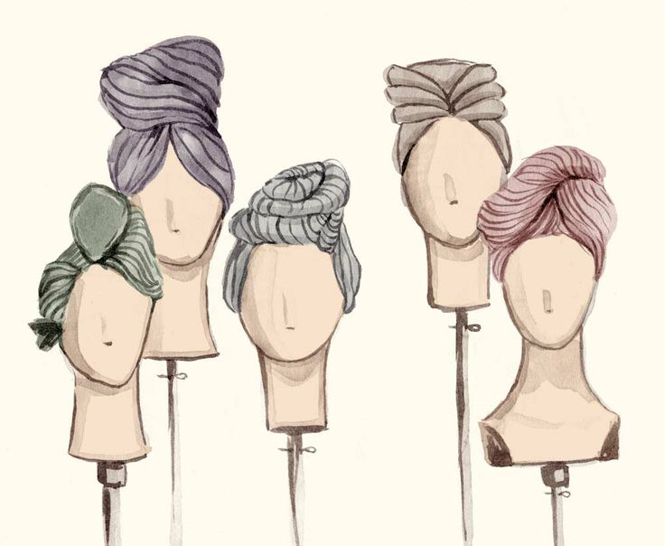 Turbans : Leah Reena Goren