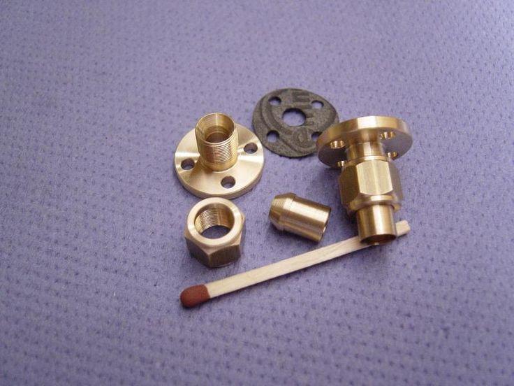 Flansch-Verschr. Rohr 6 / 4 Loch 2,7 / 130 620 :: Modellbau Dampfmodellbau Dampf Shop