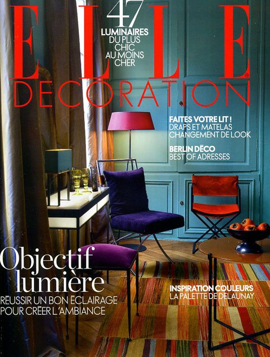 Elle Decoration Magazine France N206