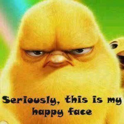 This Is My Happy Face: Happy Faces, Quote, Giggles, Funny Stuff, Things, Smile, Angry Birds, Weights Loss, Animal