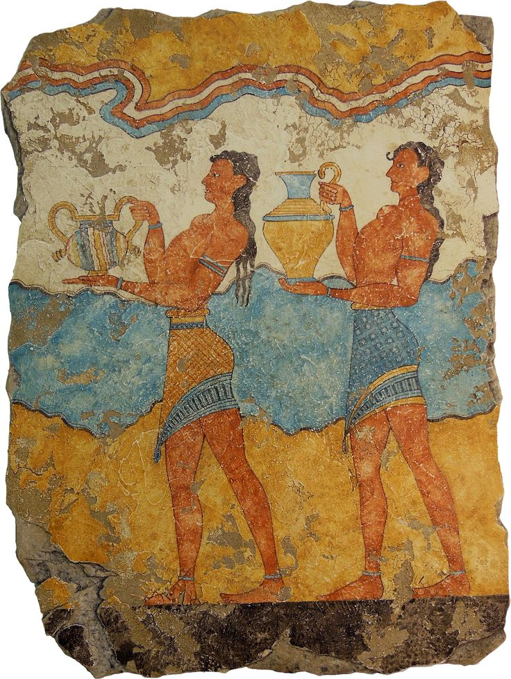 1000 Images About Minoan Greek Frescos Knossos On