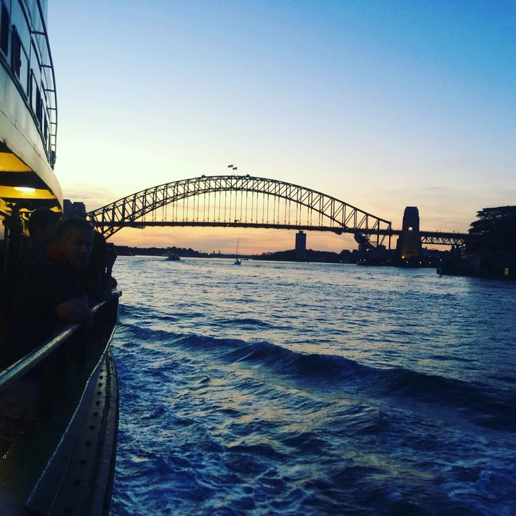 Ferry from Manly to Circular Quay #sydneyharbour