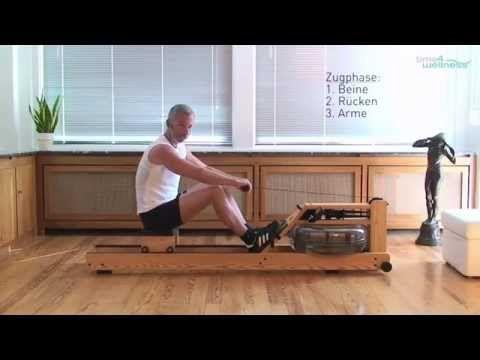 WaterRower Rudergeräte Rudertechnik - 10 Tipps für das richtige Rudern | time4wellness - YouTube