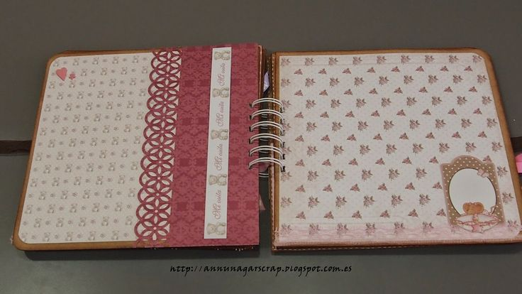 Scrapbook por Annunagar: Album bebé. Dayka Trade