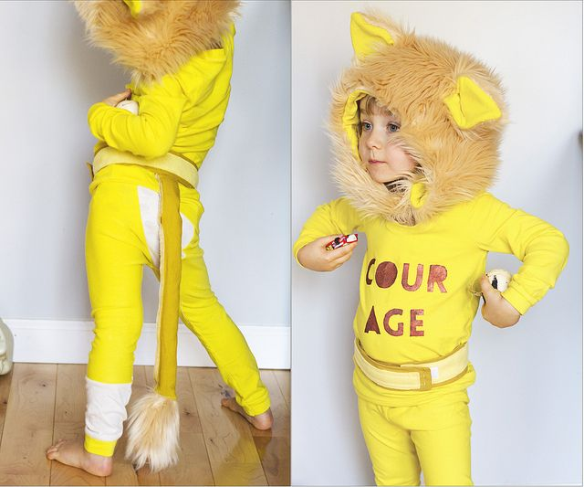 most adorable cowardly lion costume ever // girl like the sea