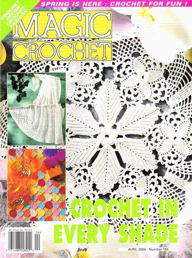 MAGIC CROCHET N.155 - Valzinha souza - Picasa Web Albums...FREE MAGAZINE!