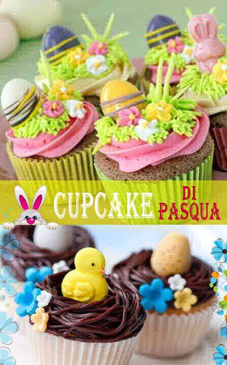 cupcakes di Pasqua