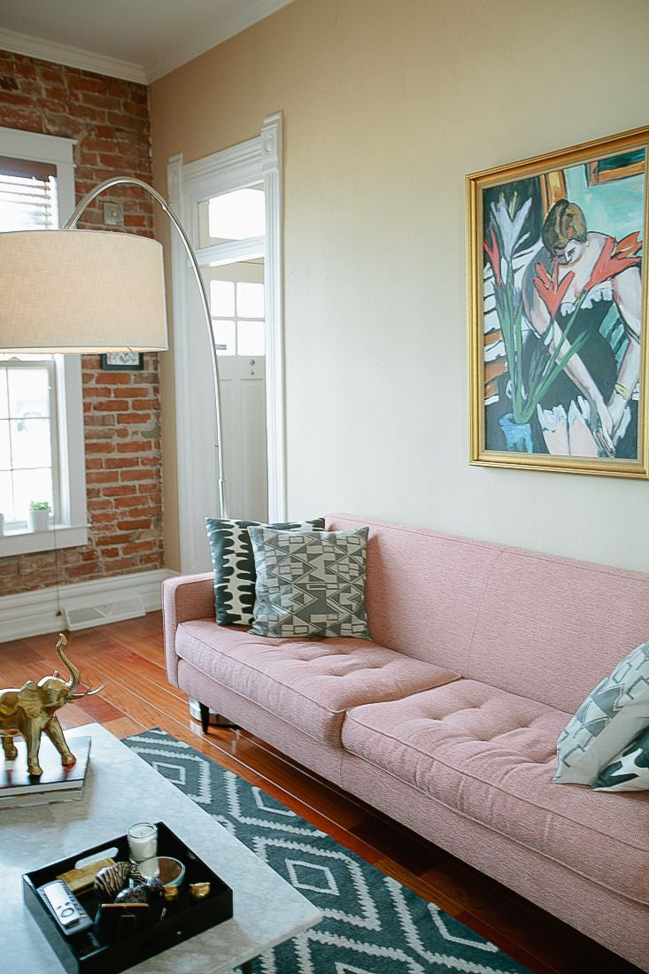 Pink Sofa Sydney An Ever Evolving Classically Modern Reno Living Rooms Pink