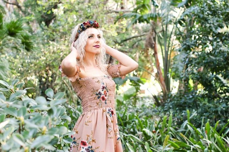 Kary M Designs Flower Crown | Lush Photography | Mooiste Dress
