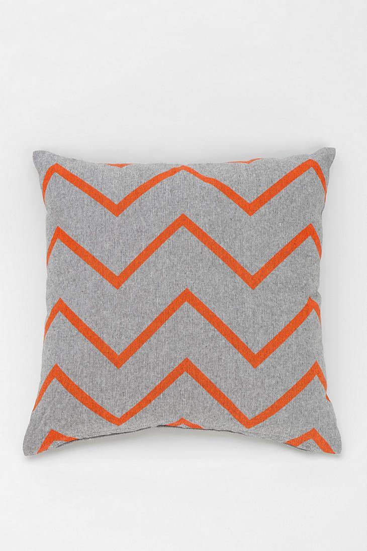 NEST Zigzag Chambray Pillow $19