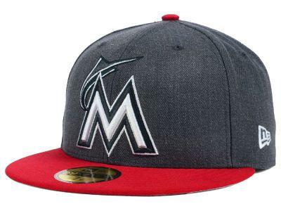 Miami Marlins MLB The Eaton 59FIFTY Cap Hats