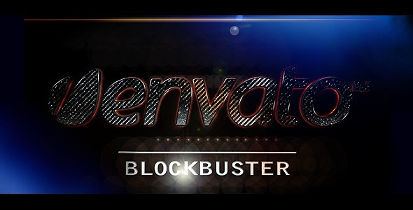 Motion graphics title sequence: Logos Blockbust, Title Sequence