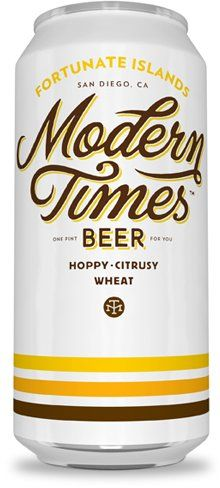 Modern Times Beer out of San Diego, California - thanks @Vanessa Eagerton for the tip!