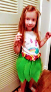 Kids love the Tropical Hawiian Island adventure influence. Hula skirt/ apron inpired. Felt and tulle leaves. Felt /fleece tropical colored flowers. -see postThe Movie Moana Inspires So Much Fun | No Non-cents Nanna