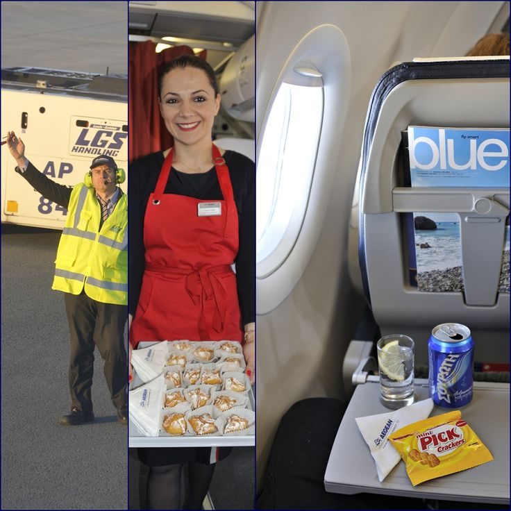 4.Κυπριακά μπουρεκάκια με κρέμα ειναι το γλυκό καλωσόρισμα στην πρώτη πτήση της Aegean για την Ζυρίχη.