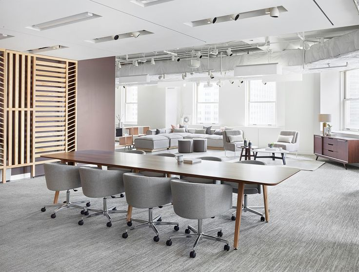 Design conference office spaces showroom chicago architects building homes architecture