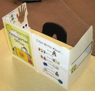 Kindergarten Writers Workshop Office for each kid