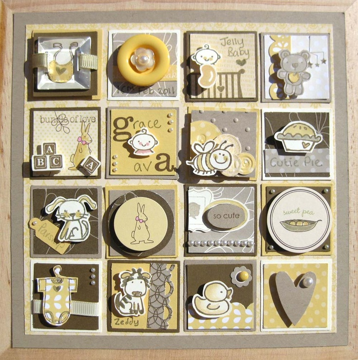 stampin up framed punch art samplers - Google Search