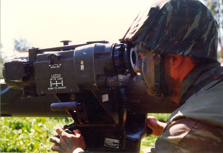 The sight on an Hellenic Army BGM-71 TOW.