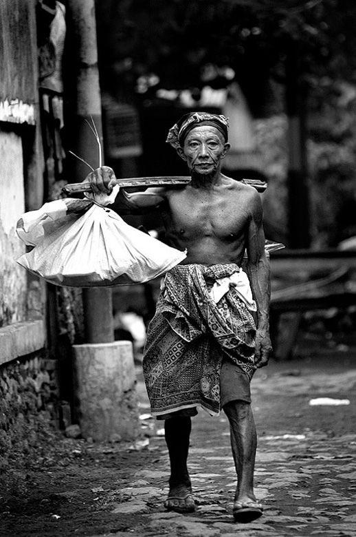THE MAN FROM TENGANAN - Tenganan, Bali