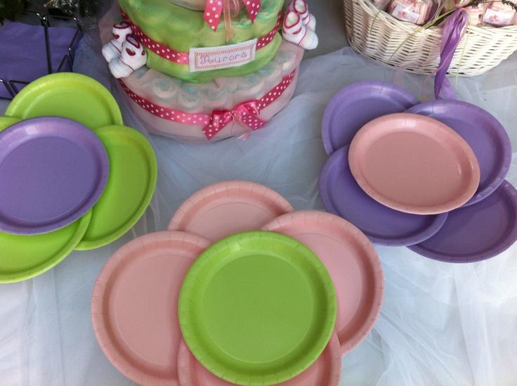 Abbinamento di piattini monocolore  Touch of colour http://supercalifeste.com/31-un-tocco-di-colore