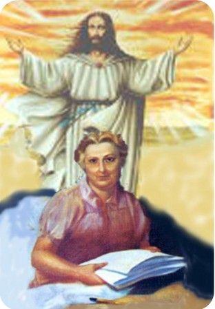 Risultati immagini per Maria Valtorta con Gesù
