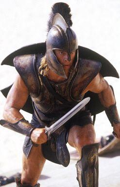 Achilles in Troy (Brad Pitt)
