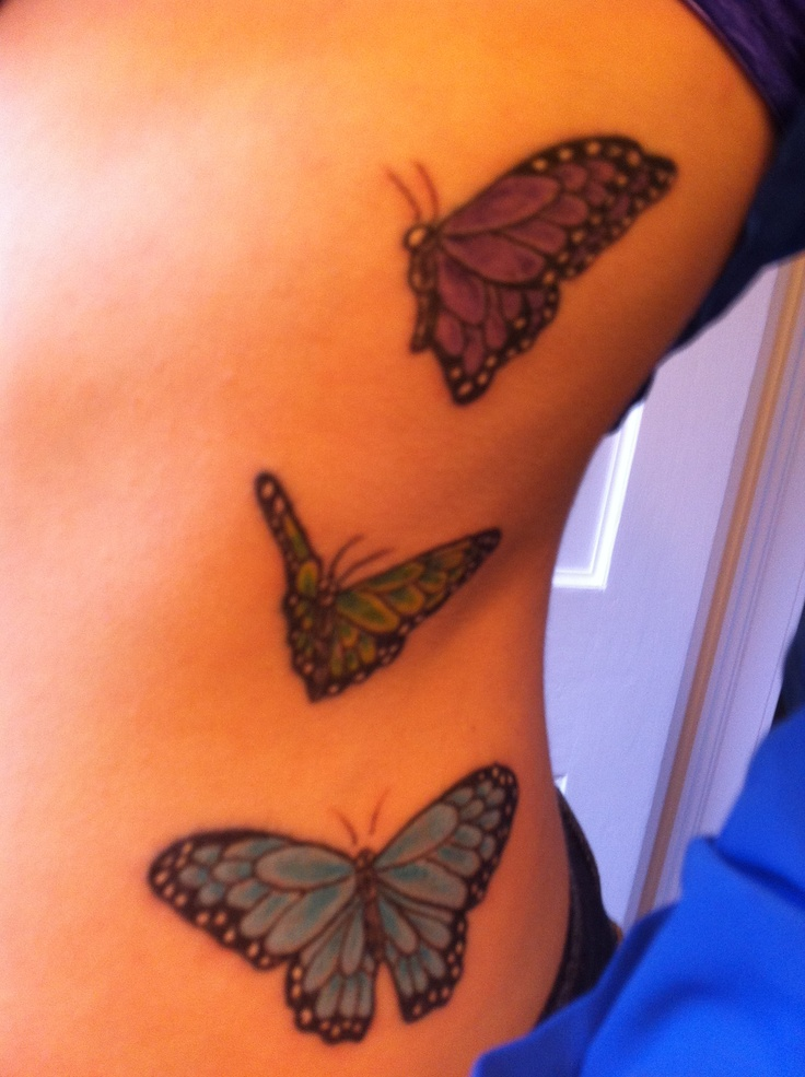 128 best tattoo 39 s vlinders images on pinterest for Butterfly memorial tattoos