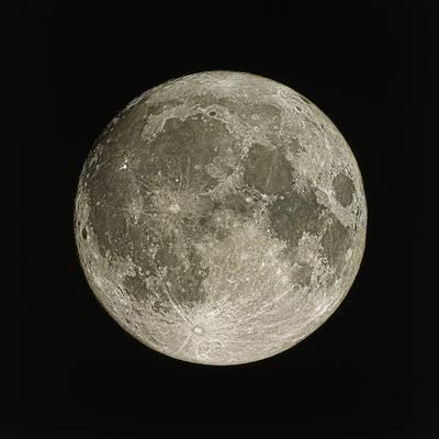 Full Moon Photographic Print by Eckhard Slawik at Art.com