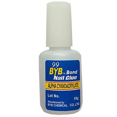 10g Grams Acrylic French Art Nail Glue - GBP £ 1.39