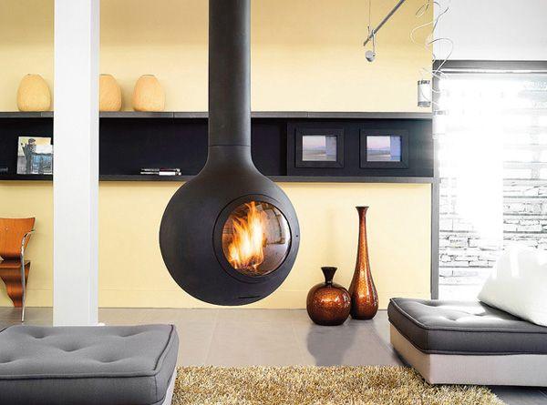 BathyscaFocus Hublot @ Oblica Melbourne (http://oblica.com.au/products/suspended-fireplaces/bathyscafocus-hublot/)