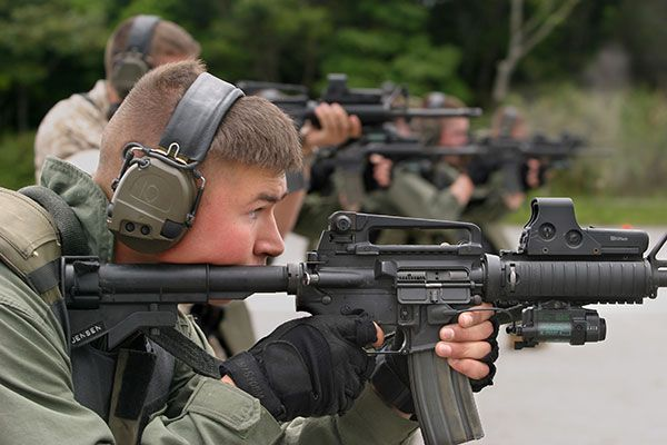 special reaction team US Military Pinterest Mp5 and USMC - shipboard security guard sample resume