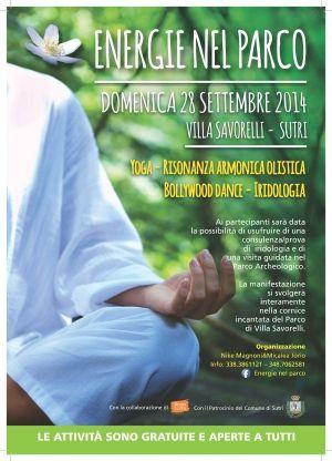 Energie nel Parco 28 settembre 2014  Sutri (VT)