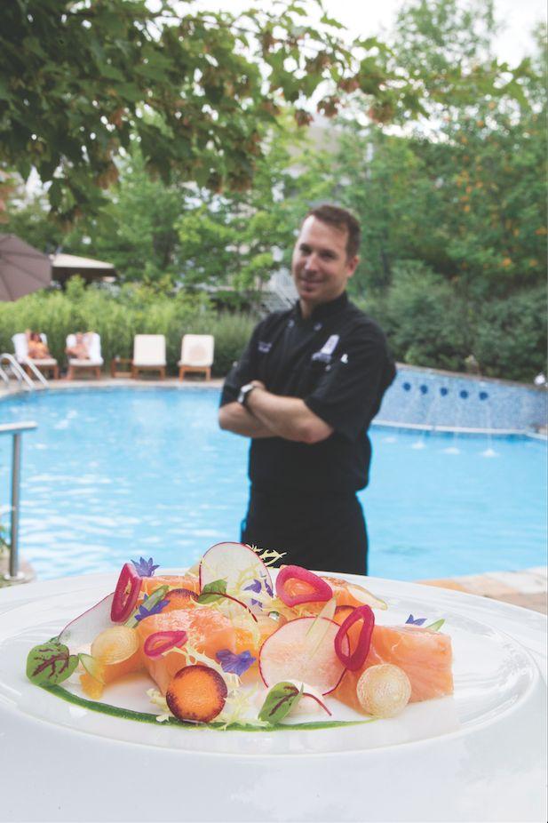 Saumon confit à l'huile d'olive et orange | Québec Scope Magazine