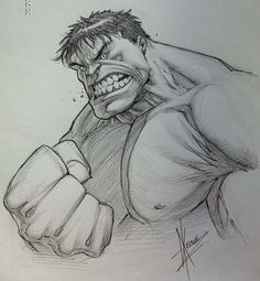 Dale Keown - The Hulk - by Dale Keown -  Comic Art °°