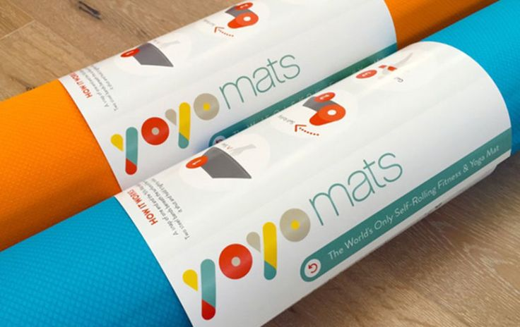 This Incredibly Cool Yoga Mat Rolls Itself Up When You're Done Using It - so, yeah, i need.